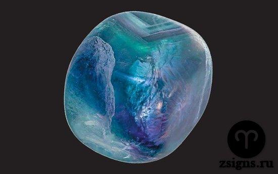 shar-dlya-massazha-iz-golubogo-flyuorita-kamen