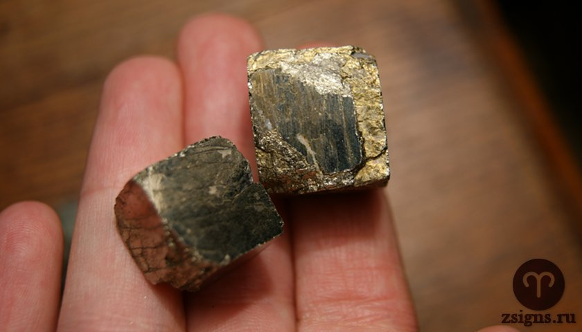pirit-kamen-magicheskie-svojstva-znak-zodiaka