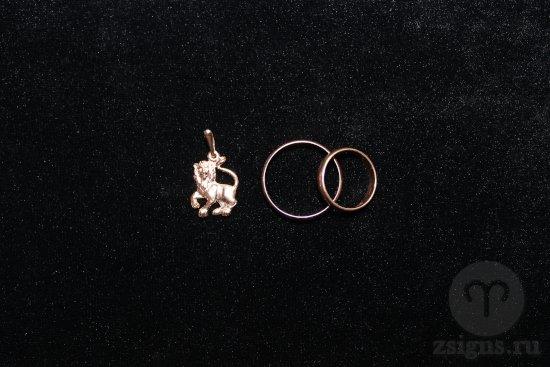 zolotye-obruchalnye-kolca-kulon-znak-zodiaka-lev