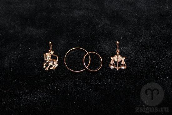 zolotye-obruchalnye-kolca-kulon-znak-zodiak-lev-vesy