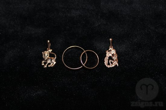 zolotye-obruchalnye-kolca-kulon-znak-zodiak-lev-vodolej