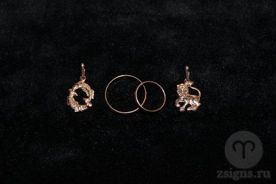 zolotye-obruchalnye-kolca-znak-zodiaka-ryby-lev