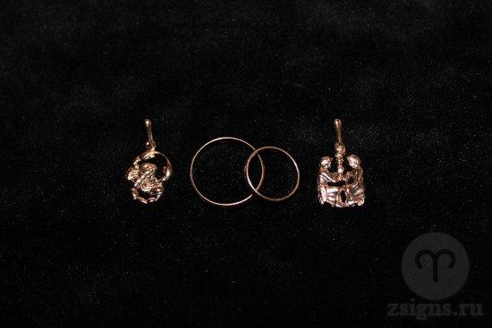 zolotye-obruchalnye-kolca-kulon-znak-zodiaka-skorpion-bliznecy